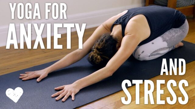 How can yoga help me manage the stress